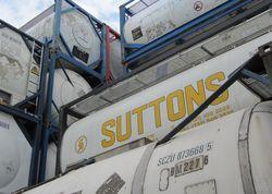 Bild: Container im Depot