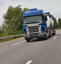 Bild: Hempt-Zugmaschine on Tour