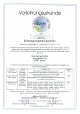 Bild: Entsorgungsfachbetrieb Zertifikat von 2017